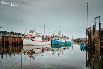 Petit port de pêche d'Alma