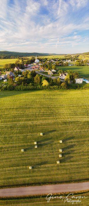Le village de St-Donat et le temps des foins III